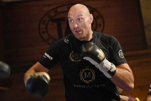 Heavyweight ace Tyson Fury