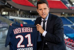Ex-Man Utd midfielder Ander Herrera (photo: Getty Images)