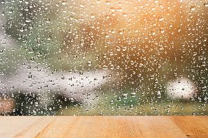 The weather is set to be dull on Tuesday 9 July, with rain and cloud throughout the day.