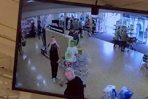 The CCTV cameras are able to place green boxes around faces when captured.