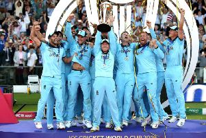 England lift the World Cup
