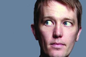 Alun Cochrane performs his Edinburgh Previews at Chorley Little Theatre on Tuesday, July 23