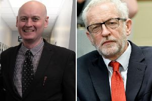 The Leader of Preston Council, Coun Matthew Brown, and The Leader of the Labour Party, Jeremy Corbyn