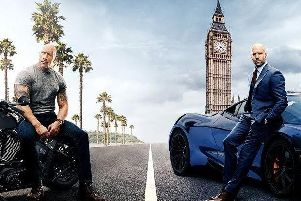 Now showing Fast & Furious - Hobbs & Shaw