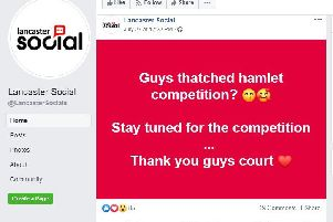 Lancaster Social Facebook page taken down after competition concerns