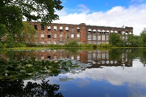 LEP photographer Neil Cross captured this image of the mill as contractors prepare for demolition.