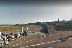 The woman was found unresponsive near The Beach Cafe in Morecambe on Thursday morning (August 15)