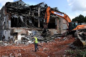 Bulldozers have moved in on Penwortham Mill