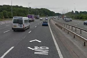 There are severe delays on the M6 and M55 motorways