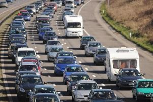 Stock image of a motorway
