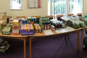 A holiday market set up in Preston to help feed children in families who struggle affording food over the summer