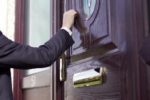 Some people live in fear of knock at the door from bailiffs