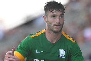 Preston left-back Andrew Hughes is nearing a return to full fitness after a hamstring injury