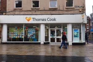 Thomas Cook in Fishergate, Preston shut its doors for a final time yesterday (Sunday, September 22), just hours before the firm ceased trading due last night
