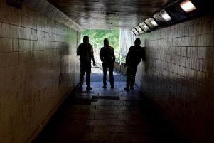 This underpass beneath the M6 has been highlighted as attracting anti-social behaviour in the past