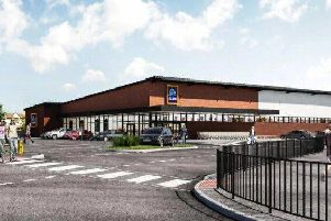 How the new Aldi store could look