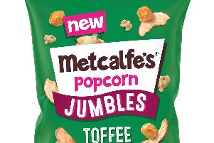 Metcalfe's Jumbles popcorn - toffee apple '2016 Yellow Images