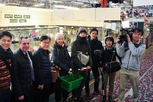 Chorleys antique and collectibles retail destination Bygone Times has played host to an international TV programme as a Japanese film crew and entrepreneur Yoshi Iwatani visited to purchase a number of locally sourced antiques.