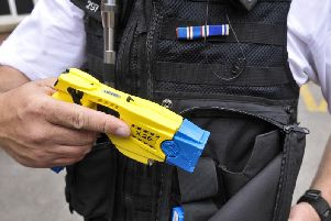 Lancashire Police officers discharged Tasers  on 82 occasions last year