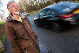 Leslie Bleasdale's call for more pavements on Eastway have been backed by other locals.