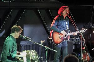 Snow Patrol frontman Gary Lightbody in action in Preston (photo and video by Blitz).