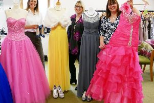 A prom shopping weekend will take place next month to help school leavers find their perfect dress at a bargain price - while helping a local charity.