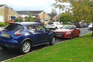 Cairndale Drive becomes a parking hotspot during term-time - even though there are restrictions which are supposed to prevent it being used by students
