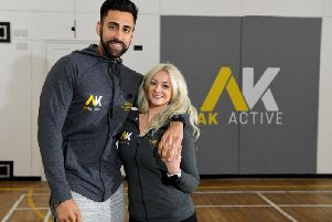 Adam and Kimberley Badat, who own fitness studio AK Active in Lostock Hall, are challenging people to buy as many essential items as they can for the town's food bank for 10.