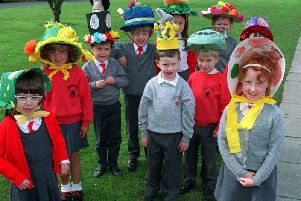 Easter bonnets at Garstang CP Primary school