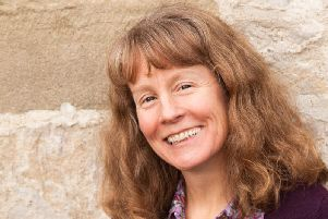 Author Julia Stagg who writes the Dales Detective series under her pen name Julia Chapman