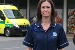 Care worker Joe Ann Whittaker was refused admission to the Fulwood Booths store because she was in uniform.