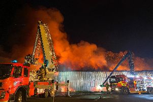 Warning to keep windows closed as large fire breaks out in Adlington