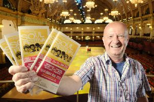 Organiser of Blackpool International Soul Festival Richard Searling