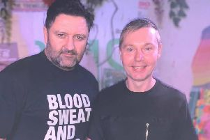 Blackpool DJs Jason Fubar and Lee Watson, Fubar and Jester, who are hosting the Virtual Festival