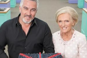 Bake-Off's Paul Hollywood and Mary Berry