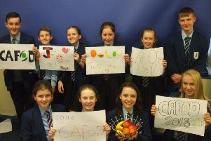Caring pupils from Brownedge St Mary's have raised more than �1,500 for Cafod Lenten charities