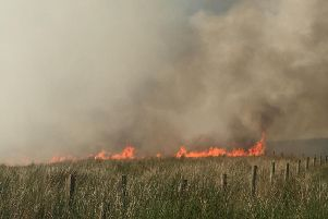 The newsdesks at the Lancashire Post and Chorley Guardian have been flooded with devastating images of the moorland fires