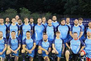 The Lancashire Typhoons squad who play at Preston Grasshoppers