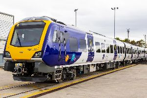 Delays on train routes because of a broken-down train