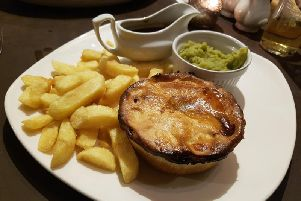 The Beef and Bowland Ale pie