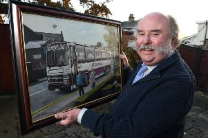 Former St Michael's CE High School teacher Michael Hughes is fondly remembered by many pupils for the Mr Hughes Bus (Photos: JPIMedia)