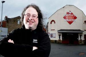Ian Robinson, chairman of Chorley Little Theatre.