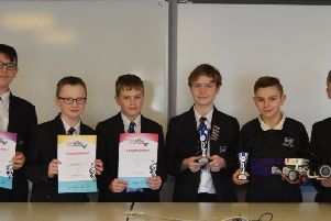 The triumphant Worden Academy team is hoping to top the regional title and take a trophy at the finals of  theTomorrows Engineers Lego Robotics Challenge