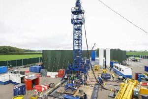 The fracking site at Preston New Road which was given the go-ahead after an appeal in 2016