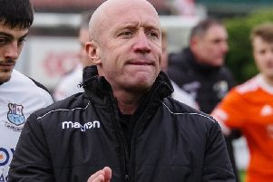 Mick Taylor has stepped down as Bamber Bridge boss