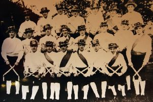 Re Leyland Morris Men lottery grant'Copy'The 1928 team, including the Arsenal and England goal keeper Frank Moss, left