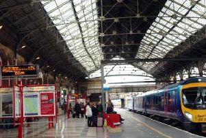 Chris Grayling says electrification of lines into Preston is proof that Lancashire is sharing in transport spending in the North