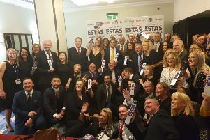 Bridgfords, in Chorley, won Bridgfords Lettings Chorley is honoured to have been awarded the Gold Letting Agent Award as voted for by our landlords and Best Letting Agent in Lancashire at the ESTAS awards