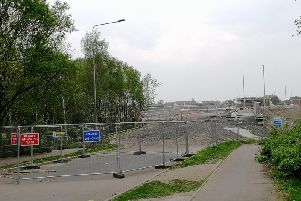 The link road had been due to be open by now