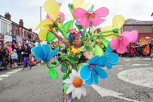 Adding colour to last year's parade